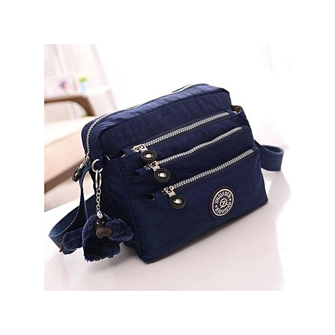 418253346aa8 bluerdream-Women Waterproof Oxford Tote Messenger Handbag Ladies Hobo  Shoulder Bag DB-Dark Blue