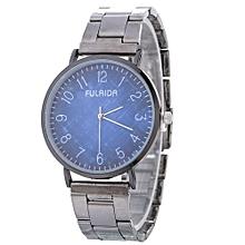 Women Retro Alloy Steel Bracelet Watch Watches Star Pattern Fashion Table D