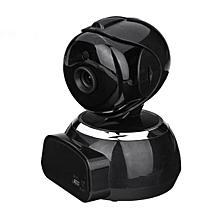 WIFI Wireless Pan 720P HD Security CCTV IP Camera Surveillance Night Vision IR Black