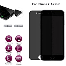Anti-Spy Privacy Tempered Glass Screen Protector Film For for iphone 7 4.7 inch