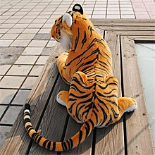 Large Giant Artificial Doll Plush Tiger Soft Cuddly Toy Simulation Lifelike 30cm