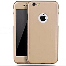 Iphone 5/5s/5G 360° Full Protective Case - Gold