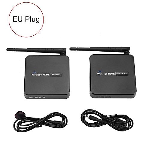 100M HDMI Wireless Network Range Extender Line Extender Transmitter  Receiver Adapter 100-240V (VDE)