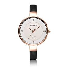 REBIRTH Quartz watch fashion bracelet watch fashion female form 546m  (BLACK)