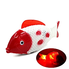 Funny Simulation Electric Running Fish With Music Toys For Pets Playing Gift -