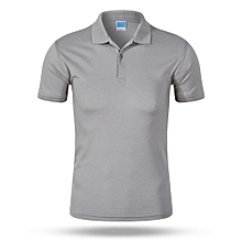 2018 Newest Customized Fashion Men And Women Available Summer Polo Shirts-Grey