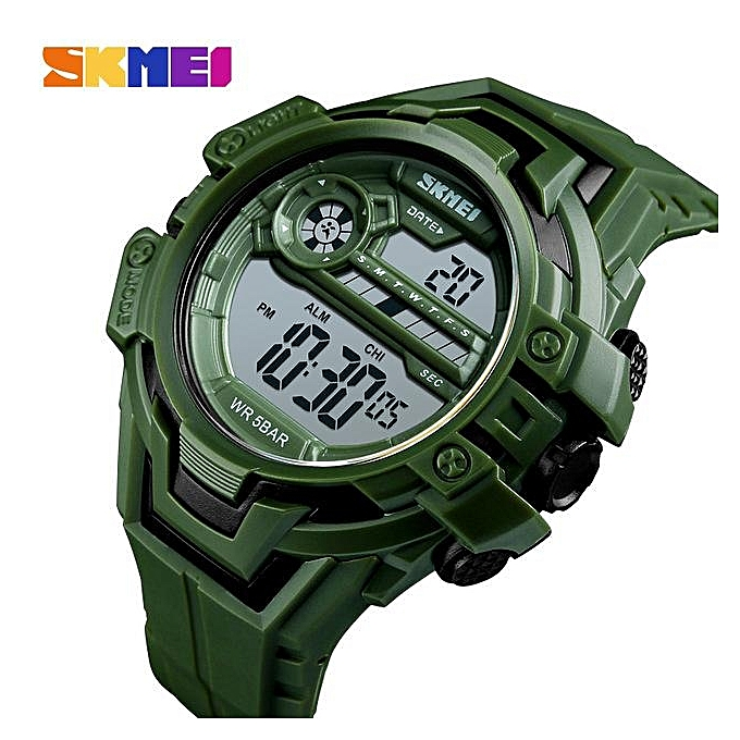f301e673fd SKMEI Fashion LED Electronic Watches Mens Military Sports Digital Watch  Casual Count Down 12/24 Hour Men Clock relogio masculino 1383