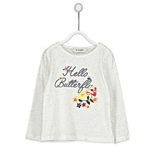 Beige Fashionable Standard T-Shirt