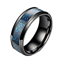 40c6d08131 Stainless Steel Jewelry Blue and Black Dragon Pattern