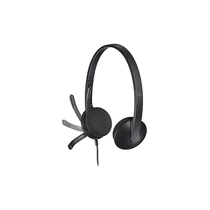 5e67e391ece Logitech H340 - USB Headset - Black @ Best Price Online | Jumia Kenya