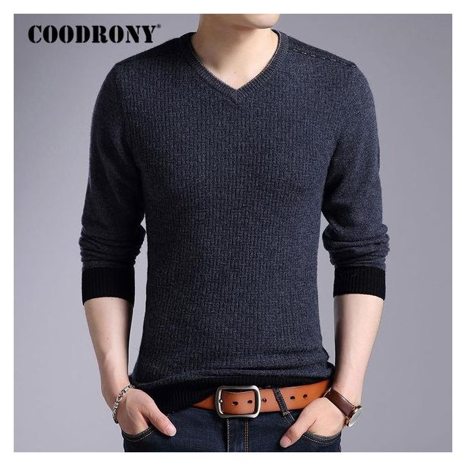 OEM Merino Wool Sweater Men Winter New Mens Thick Warm Knitted ...