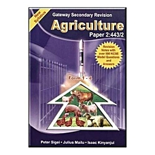 Gateway Secondary Agriculture Paper 2 443/2