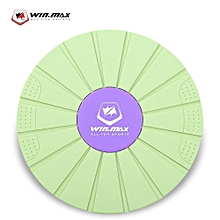 WIN MAX Plastic Balance Board for Foot Leg Body Exercise Fitness Gear Grass Green