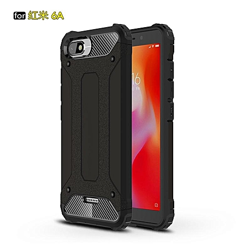 best sneakers 8cccd 47673 For Xiaomi Redmi 6A Phone Case Pour for Xiaomi Redmi 6A Protection Cover  Robot Armor 6A Telephone PC Shell Proteger Smartphone