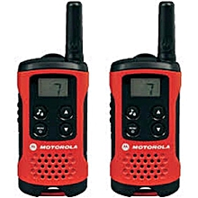 Motorola TLKR T40 2 Way Walkie Talkie (Red) (Export Sets) [ETA 4 working days]
