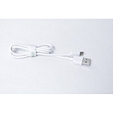 USB Charger & Data Sync Cable For All Android Phone - White