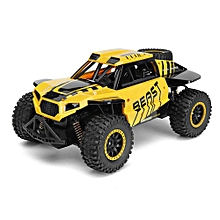 Flytec SL-146A 1/14 RC Car Rock Off-Road Racing Vehicle Crawler Truck 2.4Ghz 2WD High Speed Buggy -Green