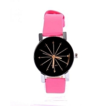 Fashion Quartz Wrist Watch -Pink