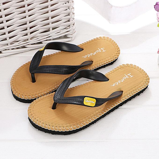 90363008f57c birthpar store Men Summer Shoes Sandals Male Slipper Indoor Or Outdoor Flip  Flops YE 40