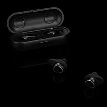 Mini Twins In-Ear Wireless Fitness Earbuds Headphones Stereo Headset -Black
