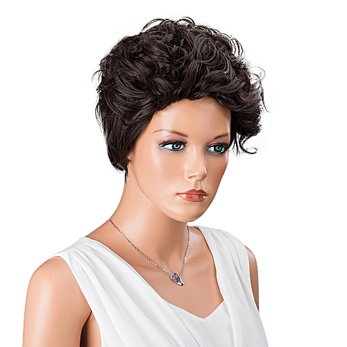 Generic Koaisd Women Short Brown Front Hairstyle Synthetic Hair Wigs For  Black Women bb6efc5b70