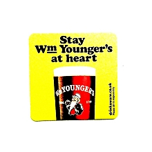 50 X Wm Younger's Beer Coasters