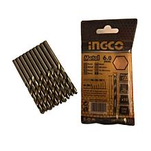 10pcs - HSS Metal Drill Bits Set - 6.0mm Thick - 70g