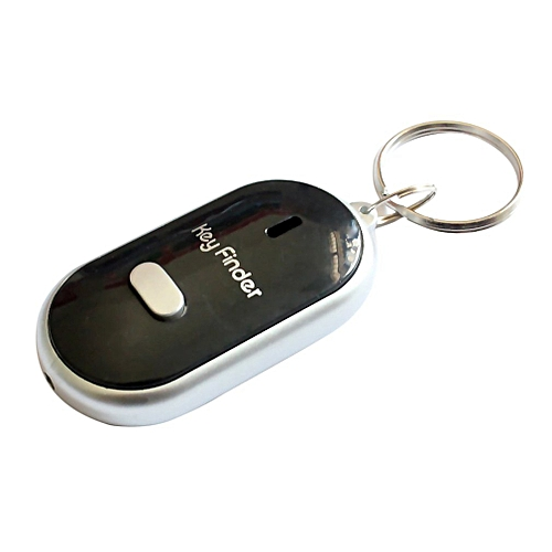 Style; Whistle Sound Led Light Anti-lost Alarm Key Finder Locator Keychain Device Fashionable In