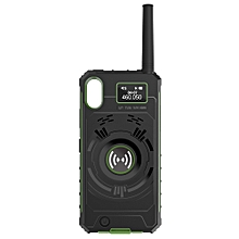 NO1 Ip01 Outdoor Multifunctional Wireless Handheld Walkie Talkie-SEA GREEN