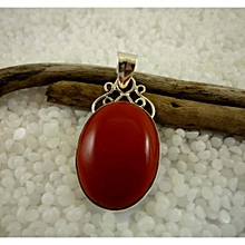 925'Sterling Silver with Red Coral