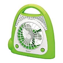 Led Multi-functional Fan Table Lamp - Green