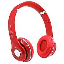 Headphone HandsFree Fashion Bluetooth Headset Bluetooth Sports Wireless Headphones S460 - Red