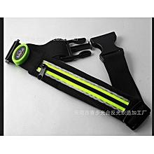 Women Men Waist Packs Belt Portable LED Large Capacity Sport Waist Bag