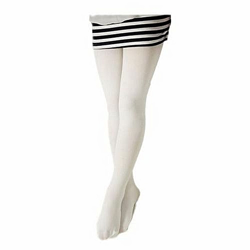 88d7c10207817 Generic White Girls Elegant Stockings Tights Leggings Pantyhose Ballet  Dance Socks Children Plain School Soft Tights