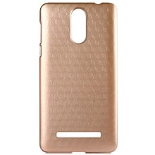 LEAGOO M8 / M8 Pro OCUBE Hard Protective Case Phone Cover  Metallic Paint Coating Mobile Shell -Golden