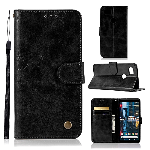 the best attitude e42d7 fe625 Casing For Google Pixel 2 Xl,Reto Leather Wallet Case Magnetic Double Card  Holder Flip Cover