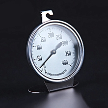 Stainless Steel Oven Thermometer Kitchen Thermometer Bakeware Baking Utensil   silver