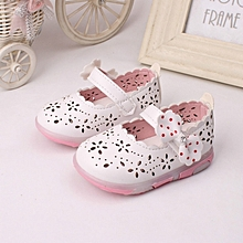 New Stylish Cute Bowknot  Baby Girls' Single Shoes with Light