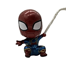 Marvel 10cm Spider-Man Bobblehead, Collectible Cartoon Bobblehead Figurines