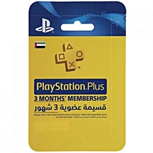 PSN Membership UAE 3 Months