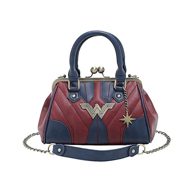 Dc Comics Wonder Woman Kisslock Bag