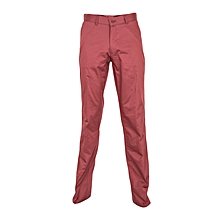 Maroon Casual Trousers