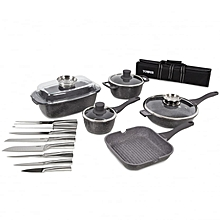 Pro Cerastone 16-Piece Die Cast Pan Set