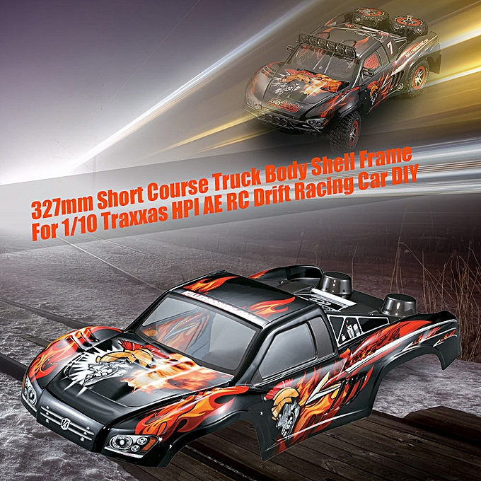 KillerBody 48035 327mm Short Course Truck Finished Body Shell Frame for  1/10 Traxxas HPI AE RC Drift Racing Car DIY