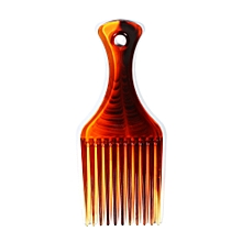 BlueZOO Hair Comb Insert Afro Hair Pick Comb Hair Fork Comb Oil Slick Styling Hair Brush Hairdressing Accessory for Men & Women