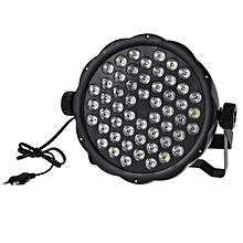 54 X 1.5 W RGBW LED Stage Parcan Light - Black
