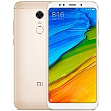 "Redmi 5 Plus - 5.99"" -  64GB - 4GB RAM - 12MP+5MP Camera - Dual SIM - 4G/LTE - Gold"