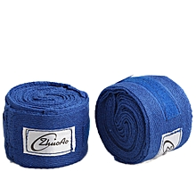 5CM Cotton Boxing Handwraps Bandages Punching Hand Wraps for Boxing Sparring Gloves - Blue