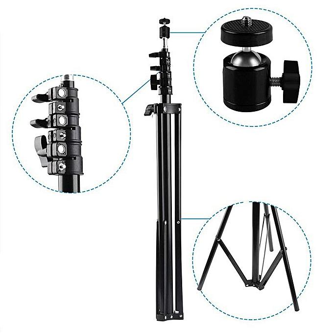 Generic 2pcs 2 6m Adjustable Light Tripod Stands Vr Holder Kit For