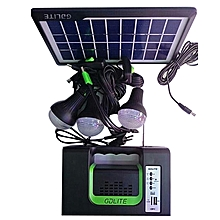 Home Solar lighting System (German Design) With 3 bulbs